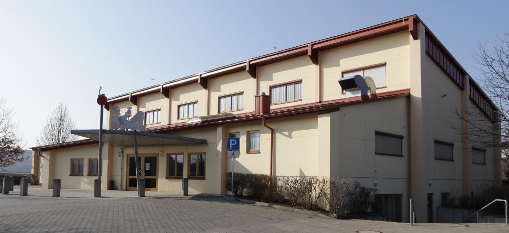 Sport- und Kulturhalle: Aussenansicht