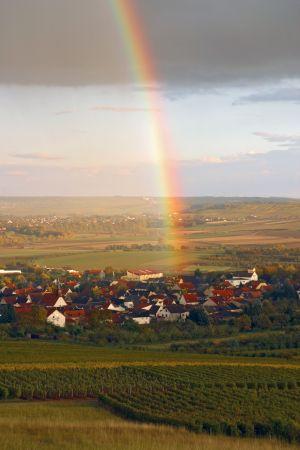 Regenbogen über Bubenheim